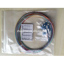 LC connector 0.9mm 2.0mm 3.0mm singlemode multimode fiber optic pigtail
